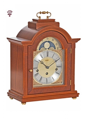 linton-mantel-clock-yew-finish-large
